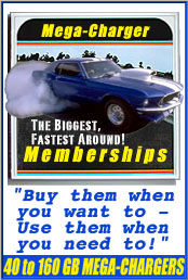 Mega-Charger Memberships - No More Returning GBs! Mega Savings Over Everyone!